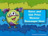 Rates and Unit Price Scavenger Hunt.