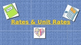 Rates and Unit Rates Introduction