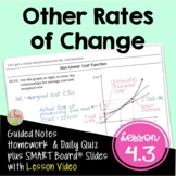 Calculus Rates of Change in Other Applications with Lesson