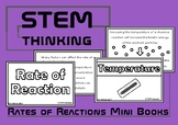 Rates of Chemical Reactions Mini Books, Middle and High Sc
