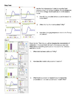 Rates of Reactions Virtual Lab