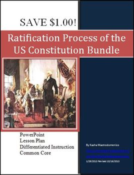 Ratification Process of the US Constitution Bundle