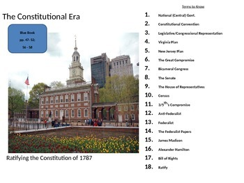 Ratifying the U.S. Constitution
