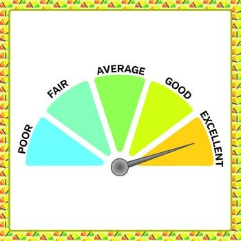 Rating Gauge - Commercial Use Clip Art Pack