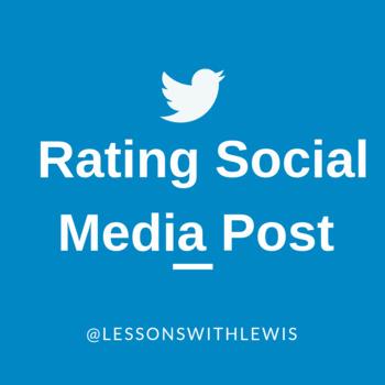 Rating Social Media Posts