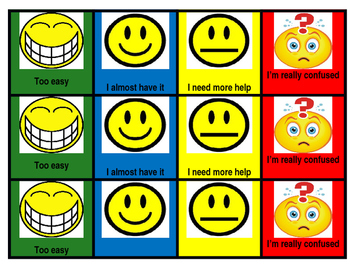 Rating scale for student desks