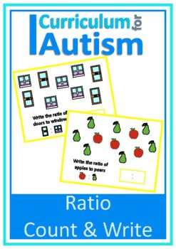 Ratio Count Write Autism Special Education Independent Work
