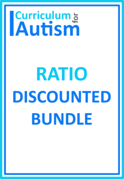 Ratio Count, Write, Match & Simplify BUNDLE, Autism Special Education