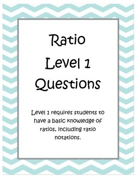 Ratio Exploration Task Cards - Includes Tape Diagram & Double Number Line Tasks
