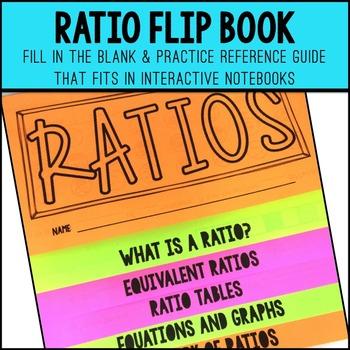 Ratios Flip Up Book