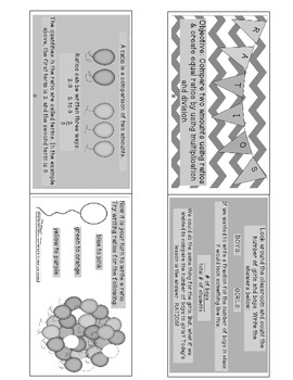 Ratio Freebie- Worksheet and Notes