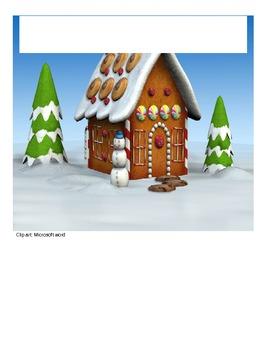 Ratio Gingerbread House