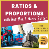 Ratio Math Performance Task (Ant-Man & Harry Potter)