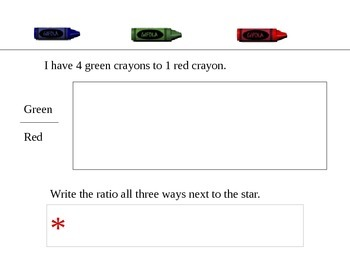 Ratio Modeling Powerpoint Activity