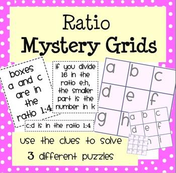 Ratio Mystery Grids!