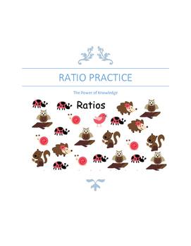 Ratio Practice Worksheet