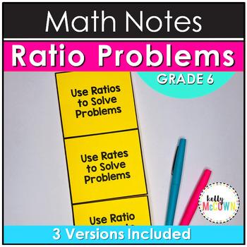 Ratio Notes Activity