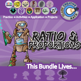 Ratio, Proportion & Percent -- Pre-Algebra Curriculum Bundle -- All You Need