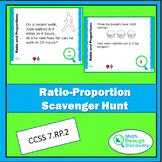 Ratio-Proportion Scavenger Hunt