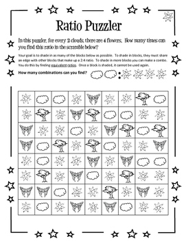 Ratio Puzzler Set of 3