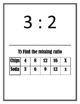 Ratio/Rate Scavenger Hunt