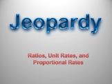 Ratio, Rates, and Unit Rates Jeopardy
