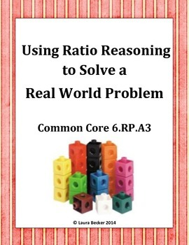 Ratio Reasoning ~ Common Core 6.RP.A.3