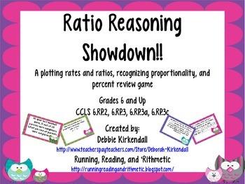 Ratio Reasoning Showdown Game