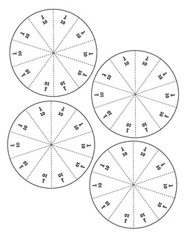 Ratio Rings: Building Connections Between Fractions, Decimals, Percents and more