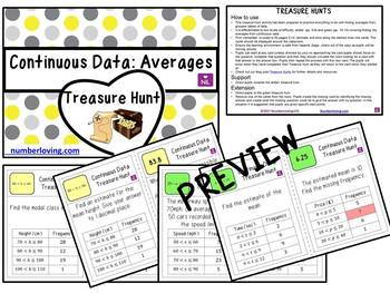 Continuous Data (Scavenger Hunt)