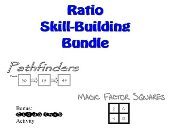 Ratio Skill-Builder Bundle