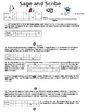 Ratio Table Notes, Activity, and Homework