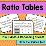 Ratio Table Task Cards