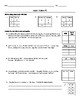 Ratio Tables - 2 Different Worksheets