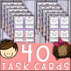 Ratio Tables Task Cards