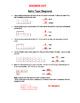 Ratio Tape Diagrams Worksheet **6th Grade Common Core**