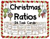 Ratio Task Cards - Christmas Themed