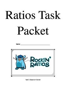 Ratio Tasks - Solving Ratios using 4 Methods - Workbook
