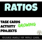 Ratio Activities Bundle for 6th grade math