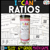 6th Grade Ratios and Unit Rate Game  | 6th Grade Math Review
