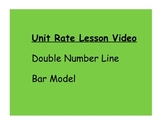 Ratio Unit Rate with Bar Model and Double Number Line