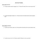 Ratio Word Problems Worksheet