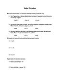 Ratio Worksheet