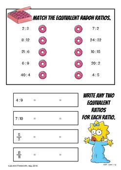Ratio and Percentage Revision Booklet