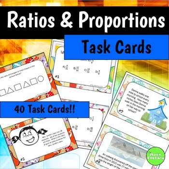 Ratio and Percent Task cards