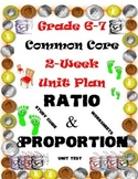 Ratio and Proportion-Unit Plan Package