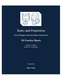 Ratio and Proportion (HI Practice Sheets)