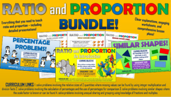 Ratio and Proportion Lesson Bundle!