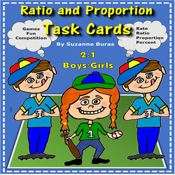 Ratio and Proportion Task Cards and Activities