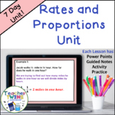 Ratio and Proportion Unit